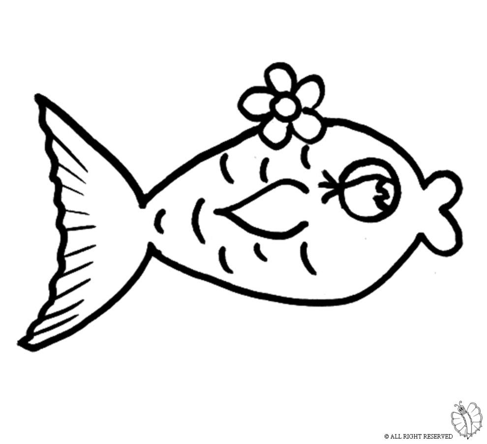Pesciolini da colorare per bambini qo92 regardsdefemmes for Disegni pesciolino arcobaleno