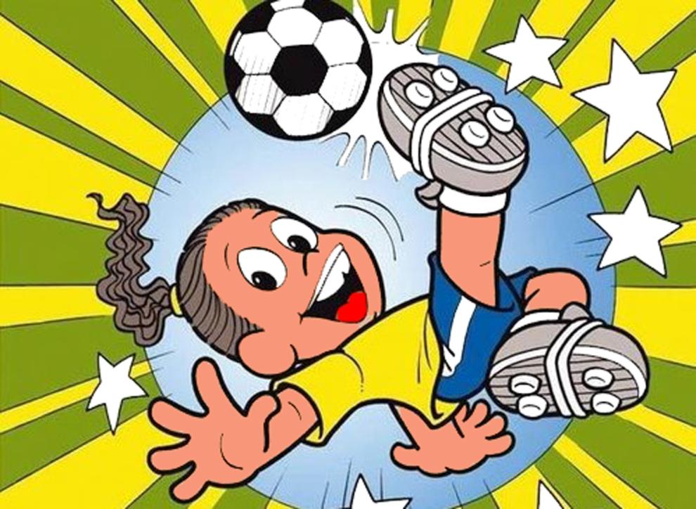 Disegno Di Ronaldinho A Colori Per Bambini Disegnidacolorareonlinecom