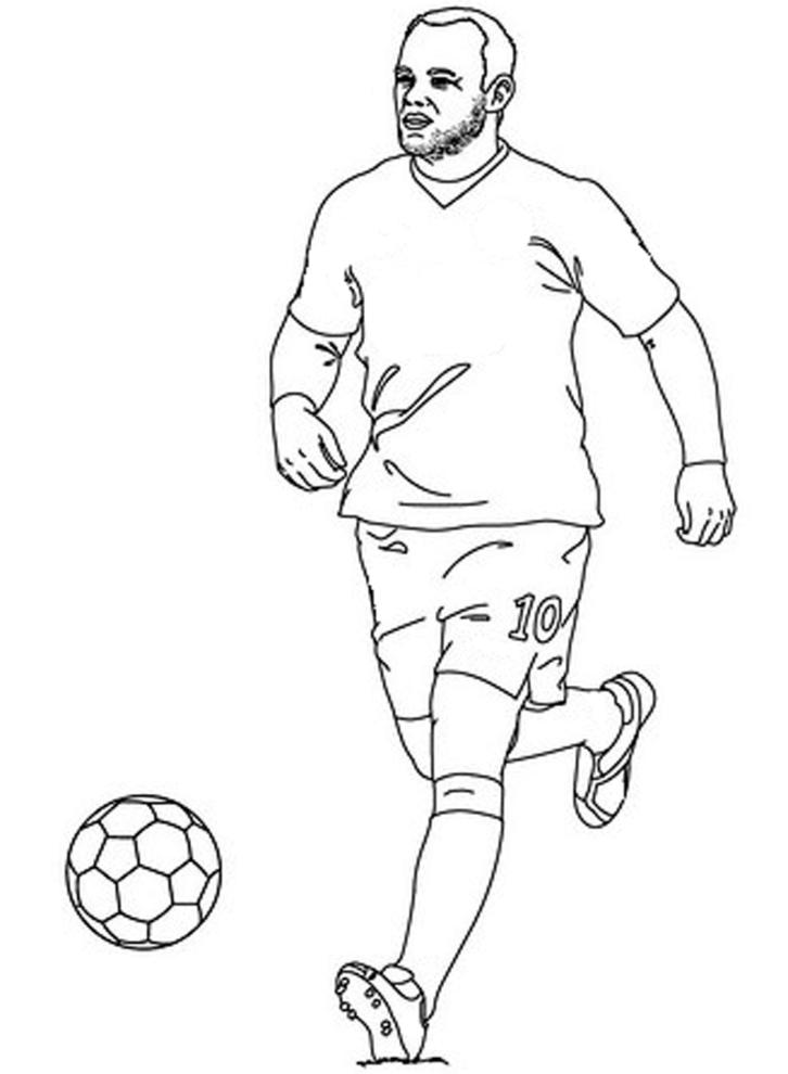 disegni da colorare di calciatori timazighin