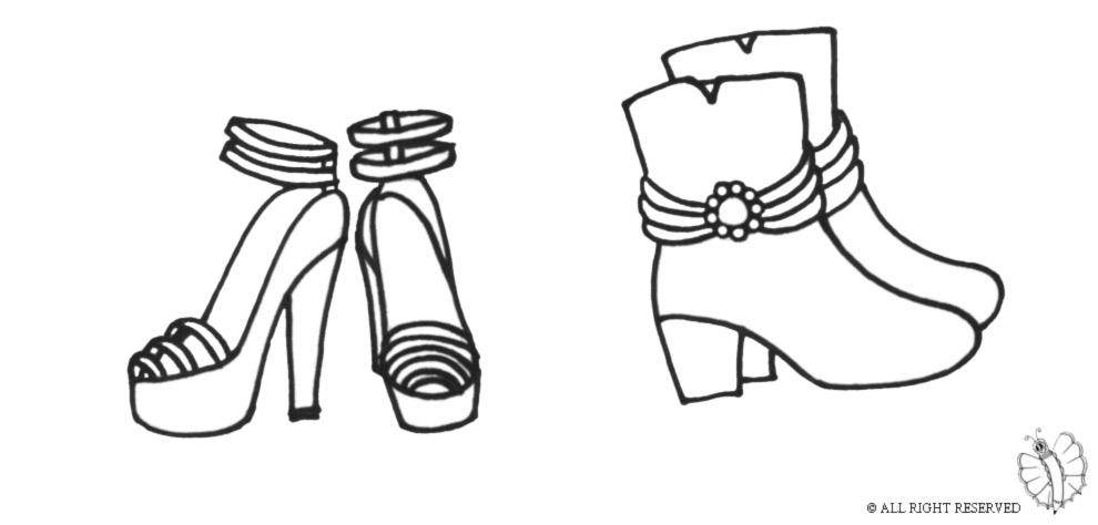 Disegno Da Bambini Colorare Pguzvlqsm Scarpe Di Per 8nwPOk0