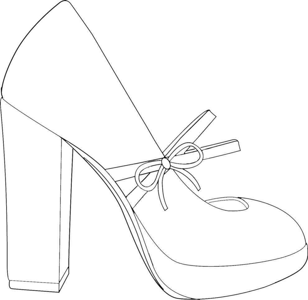 disegno scarpe ballerina