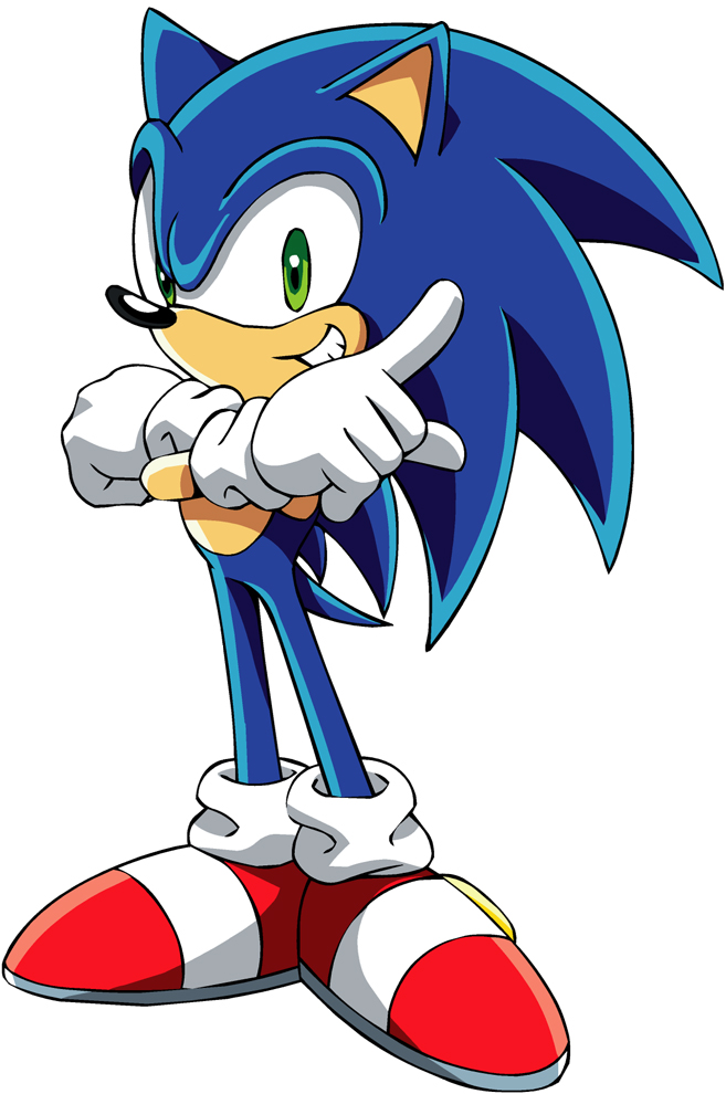 Disegno Di Sonic A Colori Per Bambini Disegnidacolorareonline Com
