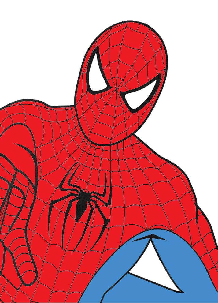 Disegni da colorare spiderman sul computer timazighin for Spiderman colorare
