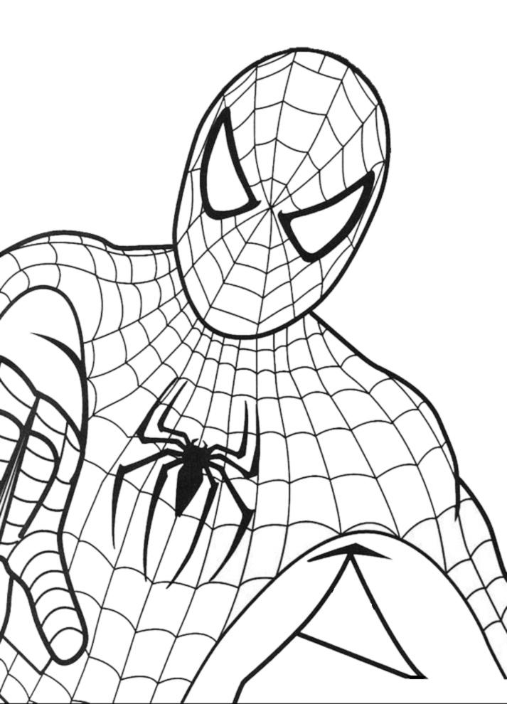 disegni da colorare e stampare gratis degli avengers