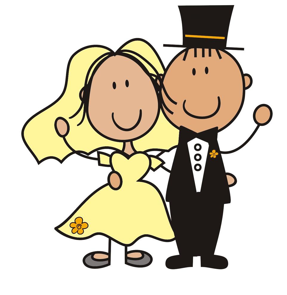abbastanza Disegno di Sposi a colori per bambini - disegnidacolorareonline.com YR79