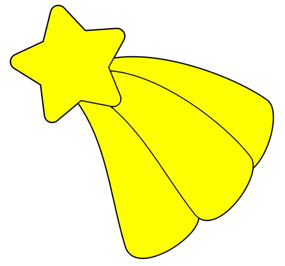 disegno di stella di natale a colori per bambini ... - Disegno Stella Colorate