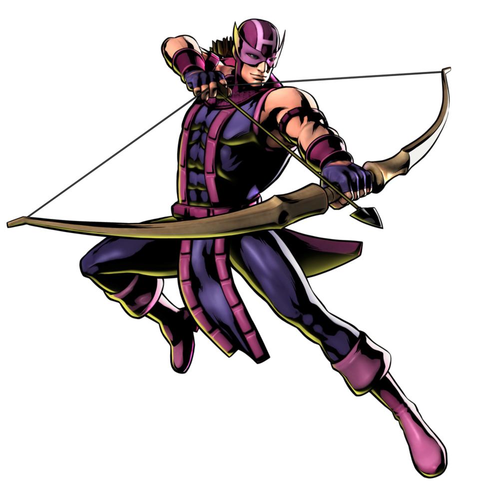 Disegno Di Hawkeye The Avengers A Colori Per Bambini