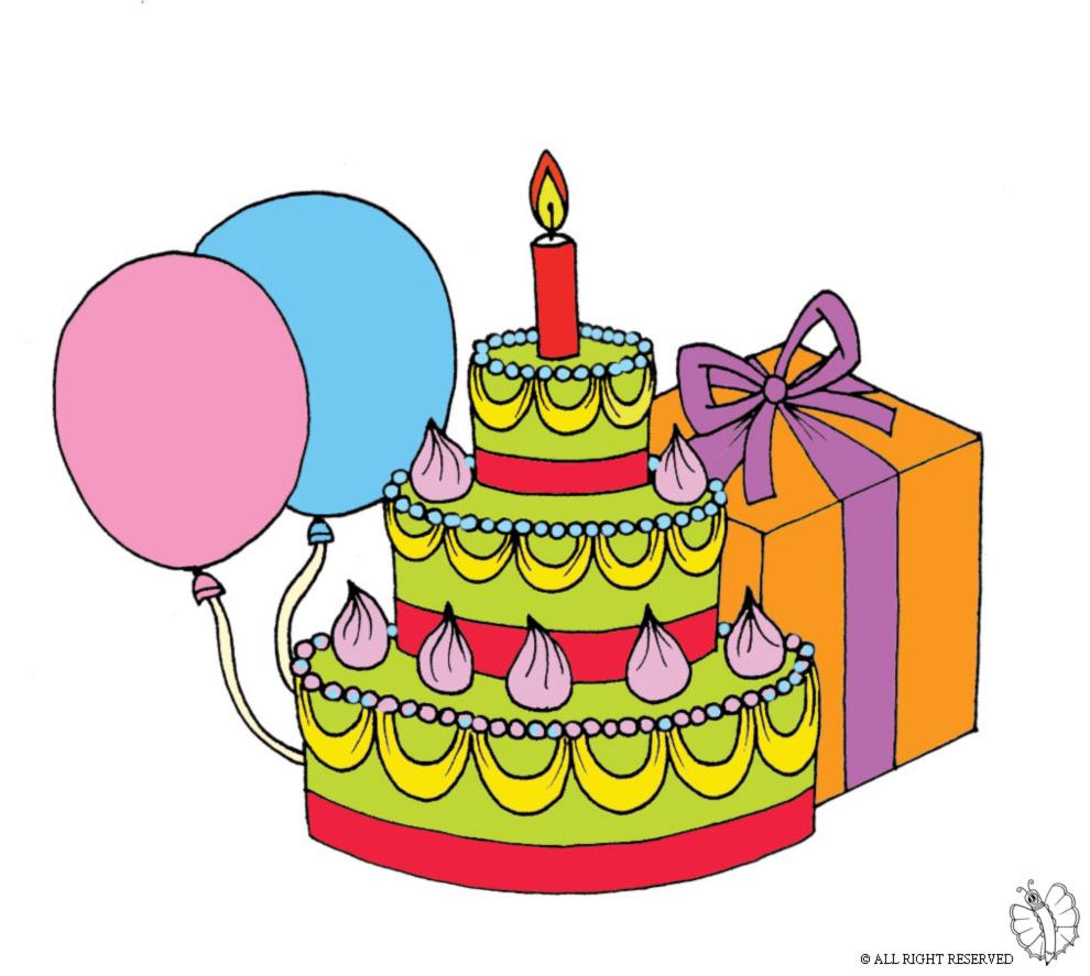 Disegni per un compleanno gv56 pineglen - Immagine con palloncini ...