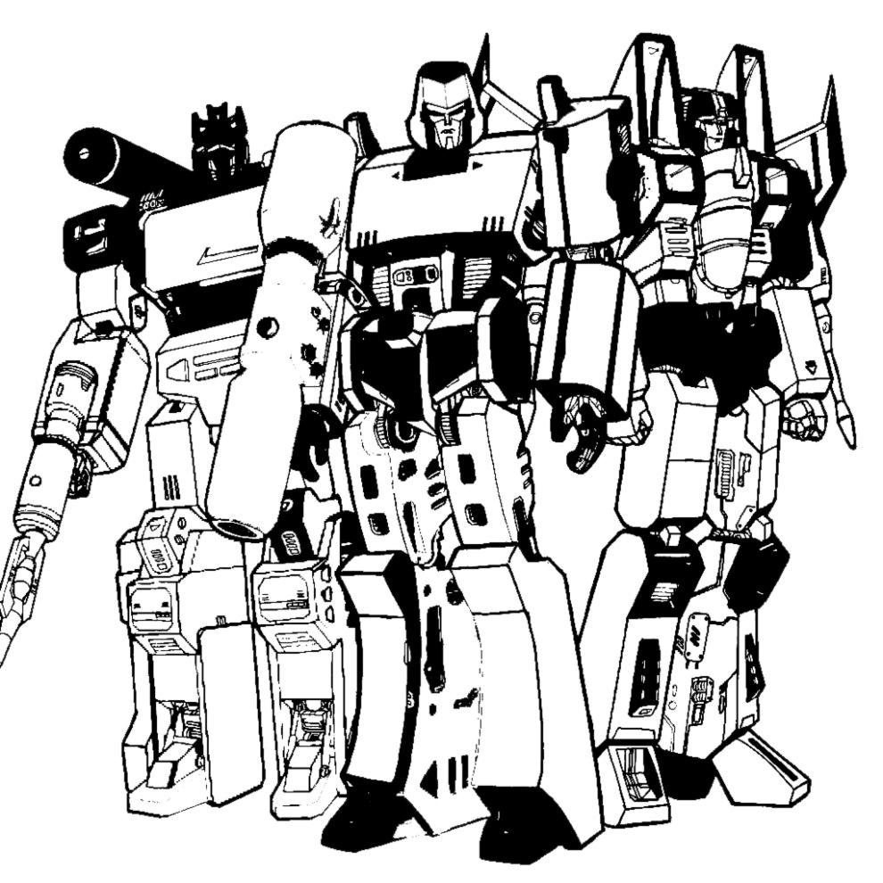 Disegni Da Colorare E Stampare Gratis Transformers Fredrotgans