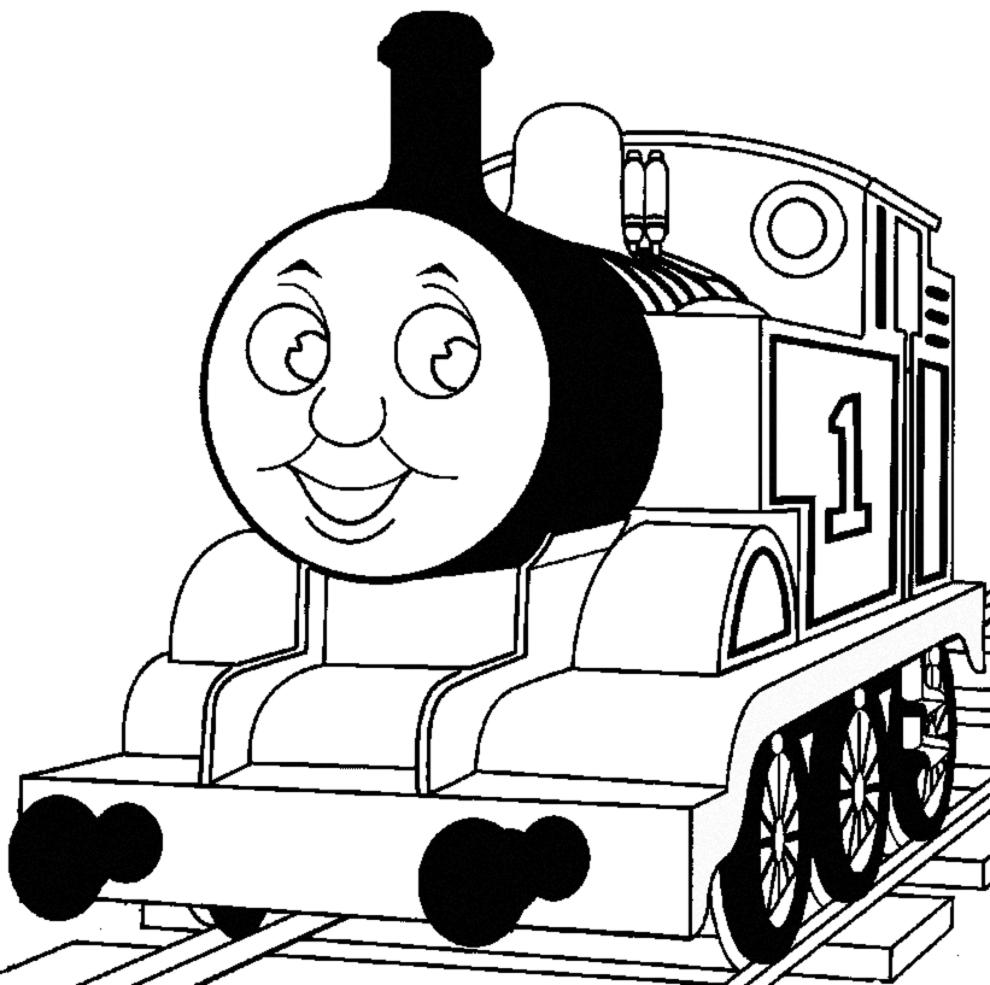 Disegno Di Trenino Da Colorare Per Bambini Disegnidacolorareonline Com