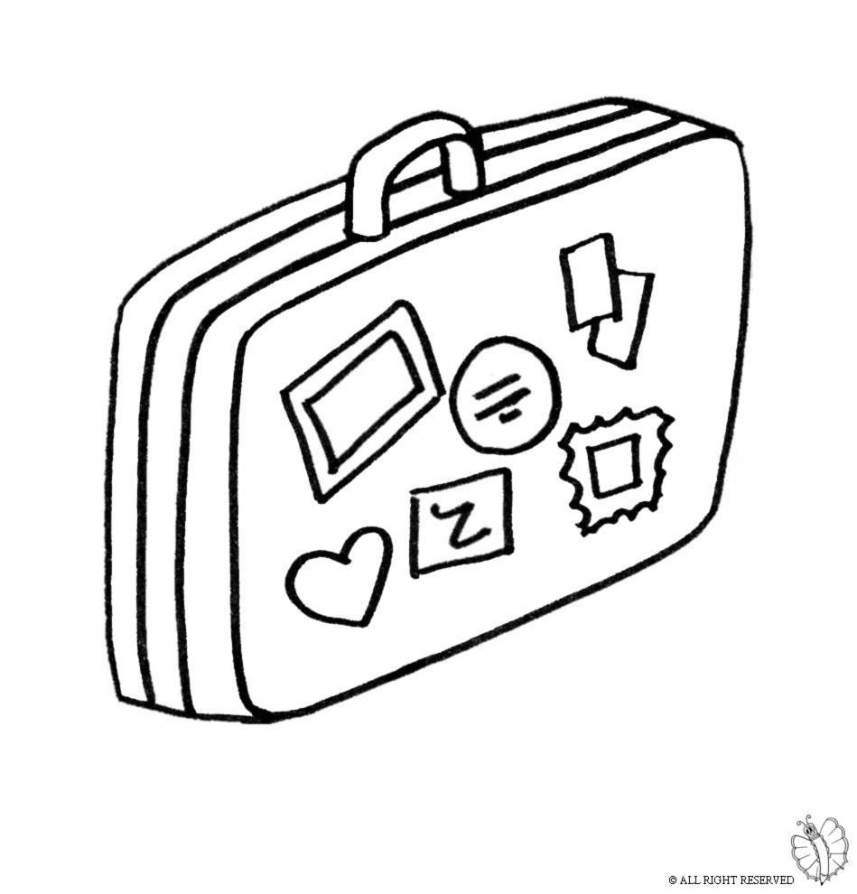 per bambini valigia