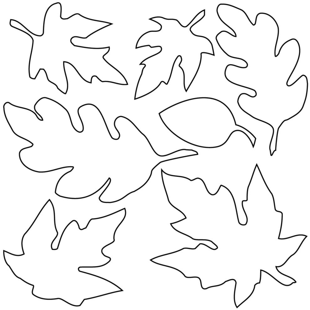 Conosciuto Disegno di Foglie da colorare per bambini  NP32