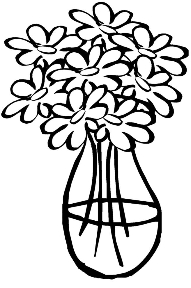 disegni da colorare con i fiori