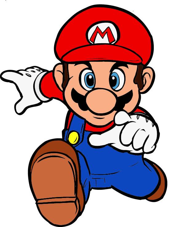 Preferenza Disegno di Super Mario Bros a colori per bambini  UA41