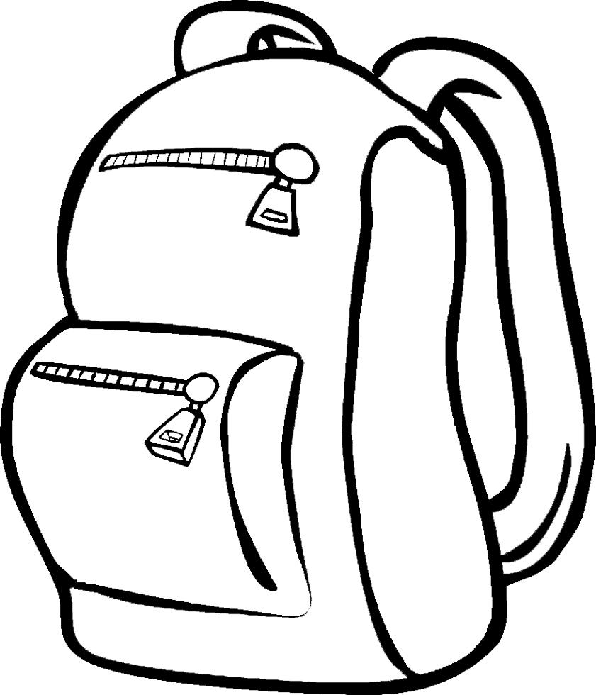 Amato Disegno di Lo Zaino da colorare per bambini  AZ84