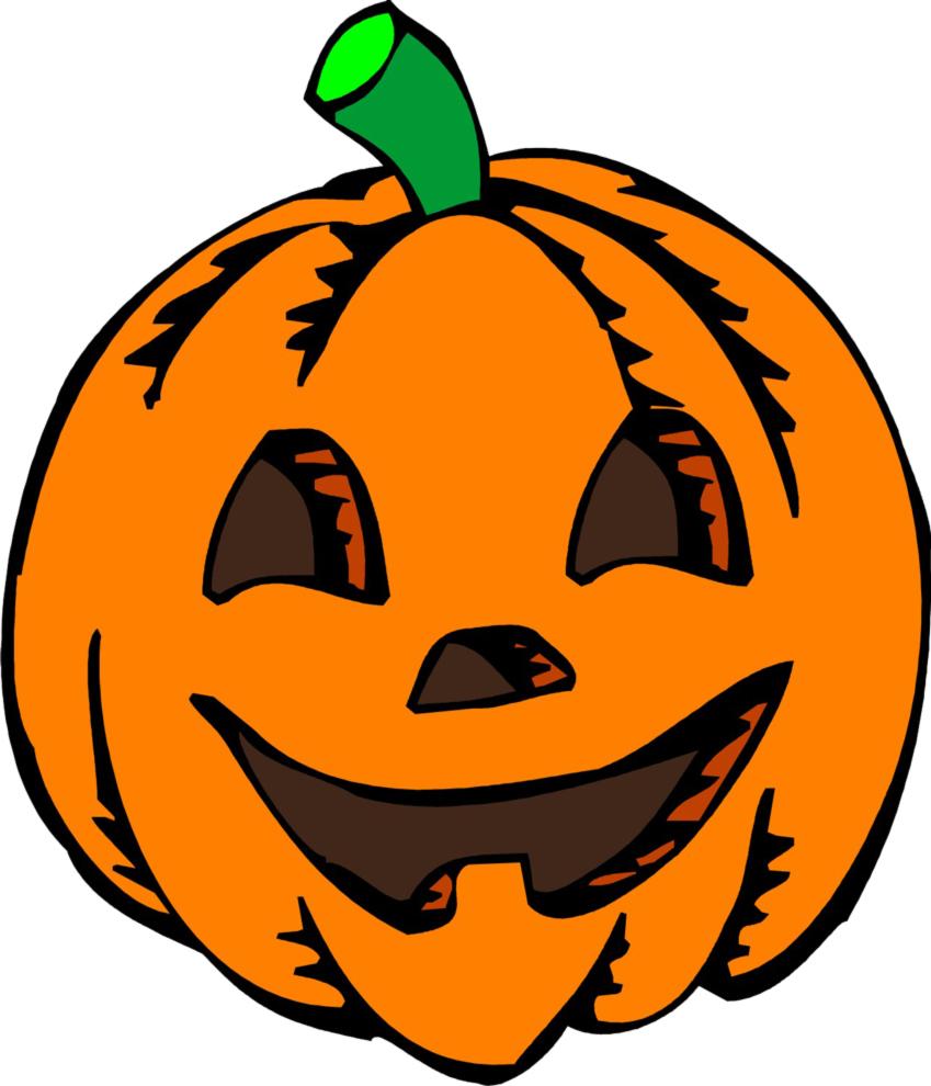Zucche Di Halloween Cartoni Animati.Disegno Di Zucca Di Halloween A Colori Per Bambini