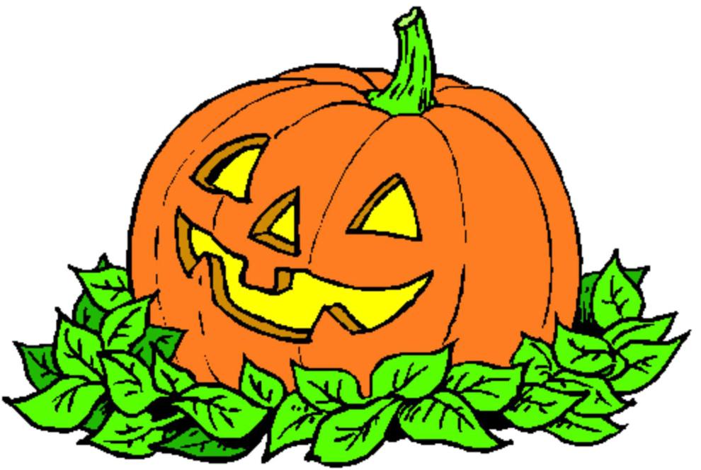Disegno Di La Zucca Di Halloween A Colori Per Bambini