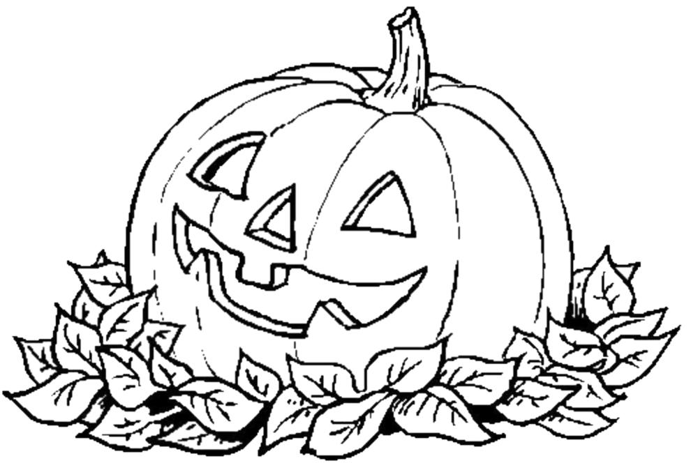 disegni da colorare per bambini gratis di halloween